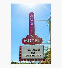 Austin Motel, Austin, Texas Photographic Print