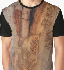 The Tree Bark Collection # 24 - The Magic Tree Graphic T-Shirt