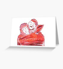 Queens of the Stone Age Electric 3-D Kalopsia Greeting Card