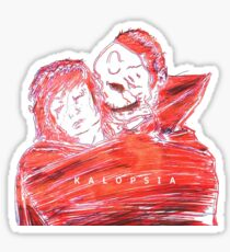 Queens of the Stone Age Electric 3-D Kalopsia Sticker