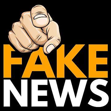 FAKE NEWS - TRUMP FINGER POTUS by dahool23