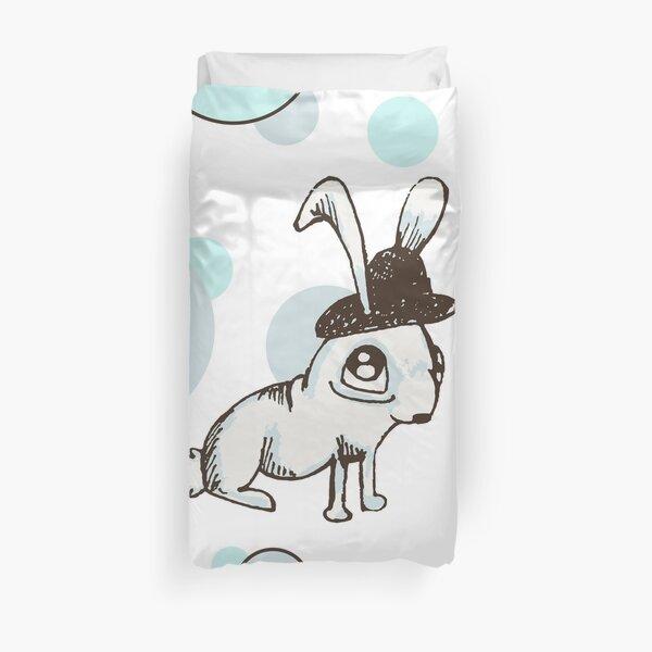 1920s Bunny Duvet Cover