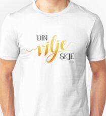 Din vilje skje Slim Fit T-Shirt