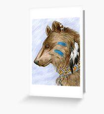 Medicine Bear Greeting Card