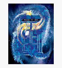 TARDIS Doctor Who Police Box Photographic Print
