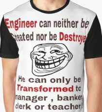 Engineer Facts Lesson 1 (Male Version) Graphic T-Shirt
