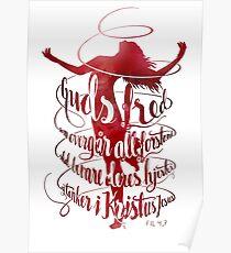 Guds fred som overgår all forstand Poster