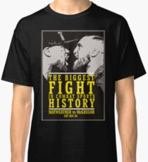 McGregor vs Mayweather Biggest Fight Classic T-Shirt