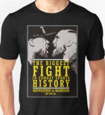 McGregor vs Mayweather Biggest Fight T-Shirt