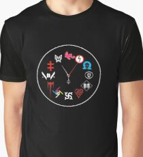 Marilyn Manson Time Graphic T-Shirt