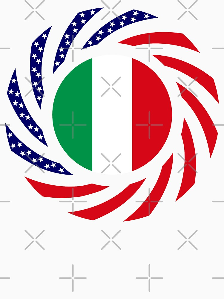 Italian American Multinational Patriot Flag Series by carbonfibreme