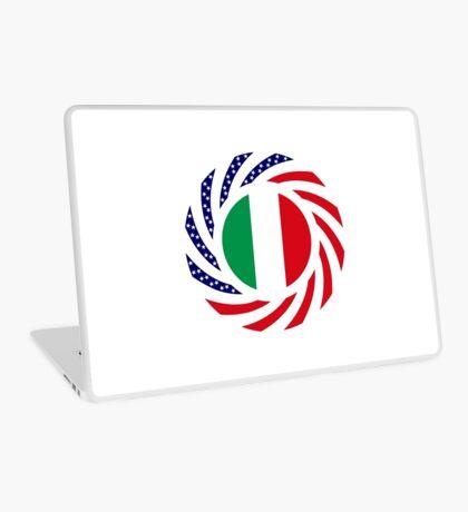 Italian American Multinational Patriot Flag Series Laptop Skin