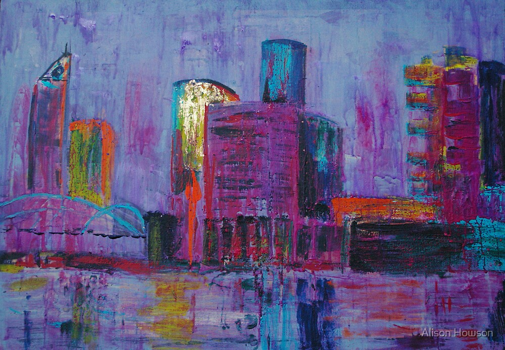 View from Victoria Harbour by Alison Howson