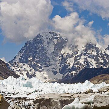 Khumbu Glacier, Nepal by kens