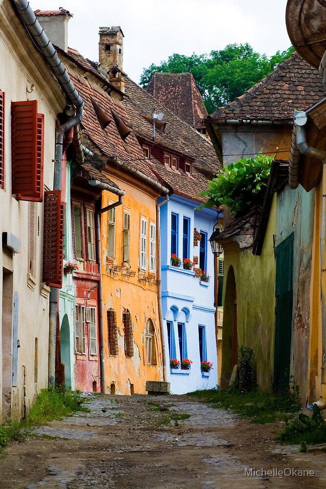 The Birthplace of Dracula - Sighisoara, Transylvania by MichelleOkane