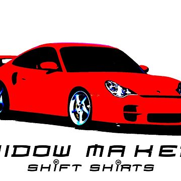 Widow Maker - Porsche 911 996 Inspired by ShiftShirts