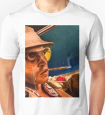 fear and loathing print T-Shirt