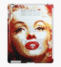 Marilyn - Blue Print iPad Case/Skin