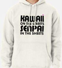 Kawaii auf den Straßen, Senpai in den Laken Hoodie