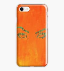 the walls have eyes.  iPhone Case/Skin
