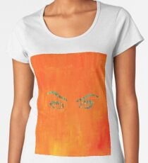 the walls have eyes.  Women's Premium T-Shirt