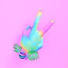 Peace Love Happiness by nickjaykdesign