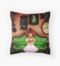 Dollhouse Throw Pillow