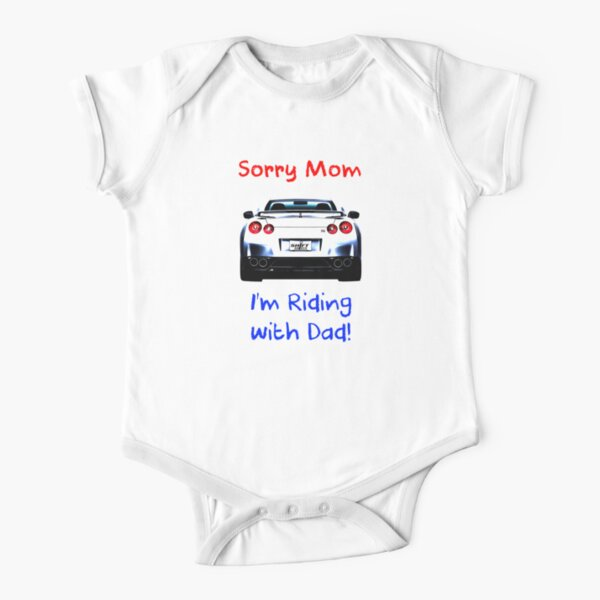 Sorry Mom - GTR Short Sleeve Baby One-Piece