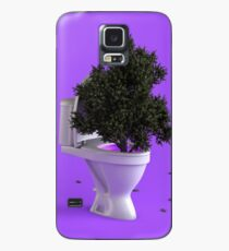 Toilet Tree Case/Skin for Samsung Galaxy