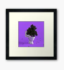 Toilet Tree Framed Print
