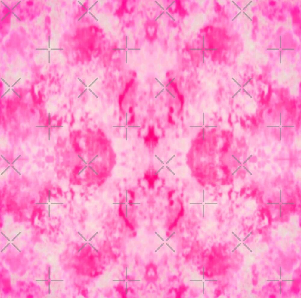 Sponged Effect Pink by karwilbedesigns