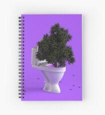 Toilet Tree Spiral Notebook