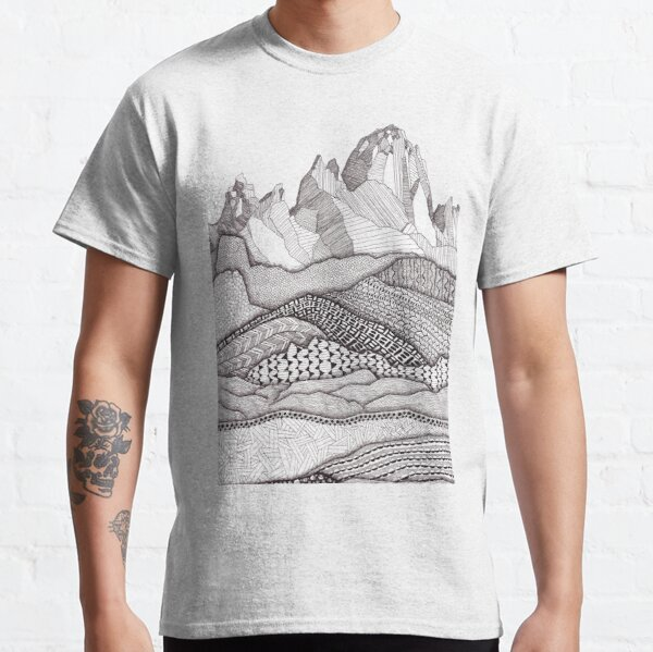 Patterns on Patagonia Classic T-Shirt