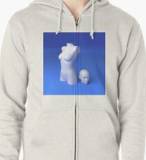 Materialistic Zipped Hoodie