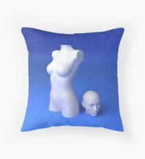 Materialistic Throw Pillow