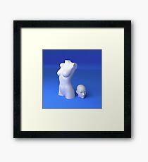 Materialistic Framed Print