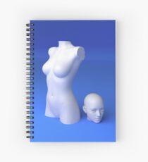 Materialistic Spiral Notebook