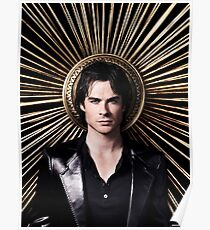 Damon Salvatore - The Vampire Diaries - Season 4 - Promotional Poster Poster