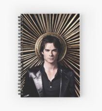 Damon Salvatore - The Vampire Diaries - Season 4 - Promotional Poster Spiral Notebook