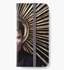 Elijah Mikaelson - The Vampire Diaries - Season 4 - Promotional Poster iPhone Wallet/Case/Skin