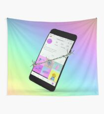 Wrapped Up Wall Tapestry