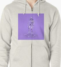 Made of Ice Zipped Hoodie