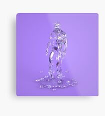 Made of Ice Metal Print