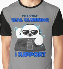 The Good Kind of Clubbing Graphic T-Shirt
