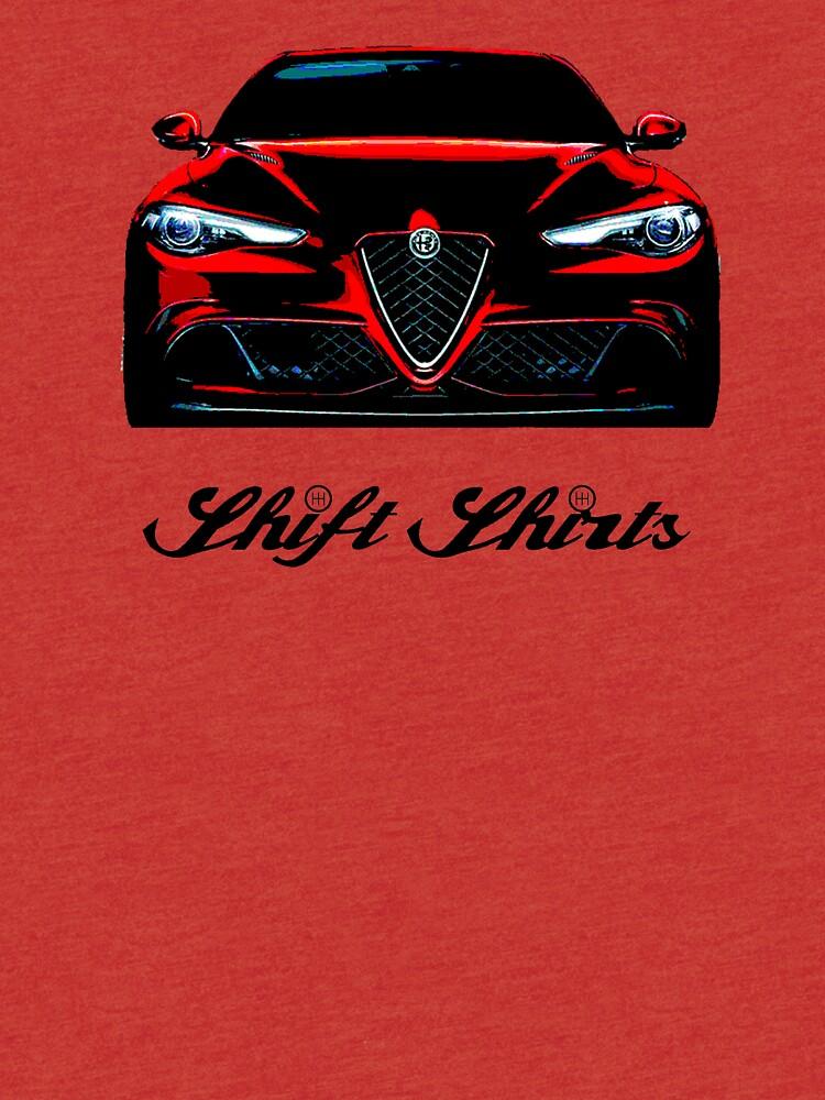 The Return To Glory - Alfa Romeo Giulia Quadrifoglio Inspired by ShiftShirts
