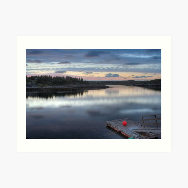 Fisherman pier Art Print