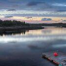 Fisherman pier by Mikhail Lavrenov