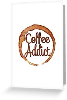 COFFEE ADDICT CAFE FRENCH ROAST AMERICANO LATTE 2 by MyHandmadeSigns