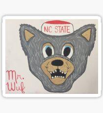 Mr. Wuf Sticker
