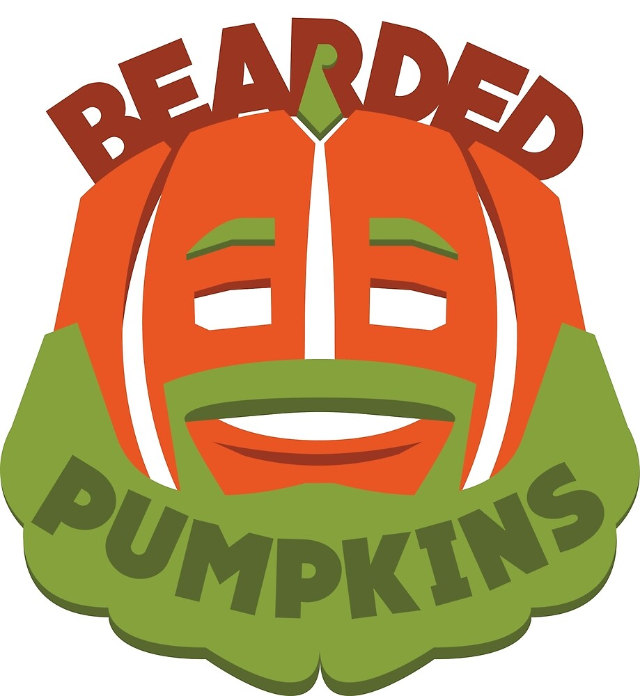 Bearded Pumpkin Logo by BeckJameson